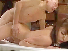 Gril old sex man Young Girl