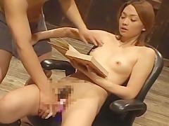 Exotic Japanese model Haruki Sato, Hibiki Otsuki, Sae Aihara in Hottest Couple, Lingerie JAV movie